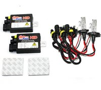 hid light - Auto Face High intensity Discharge HID Xenon Car Front Lights COMPLETE Set H4 K HI LO dual Beam lights wire and Power Control Systems