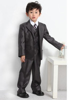 best chocolate brands - 2016 Best Sell Suit Formal Tuxedo Boys Attire Mens Groom Tuxedo Wedding Suits Wedding With