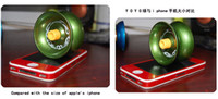 Wholesale Alloy YoYo Ball Luminous Yo Yo New Child Clutch Mechanism Yo Yo Children Toys Mix Order Safe Nontoxic
