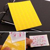 Wholesale 10 Sheet DIY Photo Album Scrapbook Corner Sticker Colorful PVC Corner Stickers corners sheet D1631