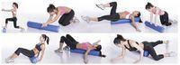 Wholesale Yoga Yoga Blocks New Hot Sale x15cm EVA Yoga Pilates Fitness Foam Roller With Massage Floating Point
