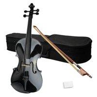 Wholesale 15 quot Acoustic Viola Case Bow Rosin Black58228 ST
