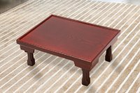 antique furniture dining table - Asian Wood Furniture Korean Dining Table Folding Legs Rectangle cm Living Room Coffee Table for Tea Traditional Floor Table