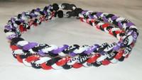 Tornado necklace - titanium braided ropes necklace tornado SPORTS football baseball new tornado necklace