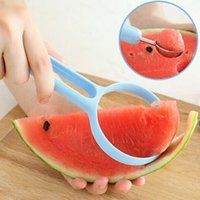 Wholesale 2Pcs Set Fruit Slicer Peelers Melon Scoops Ballers Household Kitchen Cooking Tools Peeling Dig Spoon Kitchen Gadget JE0204 kevinstyle