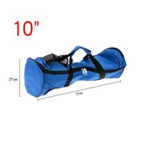 Wholesale 10 inch Carry Bag for Dual Two Wheels Self Balancing Electric Scooters Smart Electric Mini Scooter Skateboard Intelligent Balance Car Blue