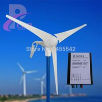 Wholesale MAX W V Permanent Magnet Wind Generator Kits Wind Charge Controller Working With Solar Panel With Full Certificates