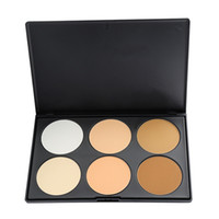 Wholesale Professional Color Pressed face Powder Palette Nude Makeup Contour Cosmetic Hot Search