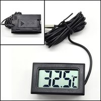 Wholesale 1PC New Arrival Hot Sale LCD Digital Panel Thermometer Temperature Meter Instruments X60 JJ0325W s1