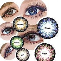 cosmetic contact lenses - DHL Vannilla Milkshake Contact Lens Big Diameter Fruitcolor Candy Color Contact Lenses Lens prescription Lens Cosmetic Eye Lens
