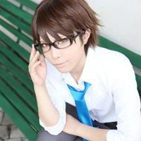 Wholesale ACE of Diamond miyuki kazuya short brown anime cosplay party full wig