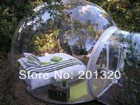 Wholesale clear inflatable lawn tent Bubble tent cheap inflatable lawn tent