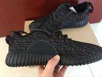 fabric mesh - Yeezy Boost Top Quality Sneakers Training Boots Shoes Moonrock Classic Black Men s Women s Fashion Trainers Shoes With Box And Receipt