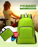 Wholesale Foldable women nylon bags travel backpack Outdoor Leisure sports bag travel travel backpack
