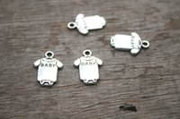 Cheap Charms charms Best Traditional Charm clothes 40pcs baby