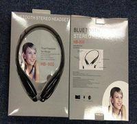 Wholesale HB earphone bluetooth headset Wireless earphone sport Neckband headphone For LG iPhone Samsung Also sell HBS HV HBS800