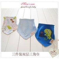 baby girl bib lot - 2016 Baberos Bandana Zoo Bandanas Baberos Boy Girls Cravat Infant Towels Bavoir Babero baby bibs K7