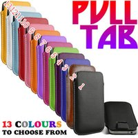 Cheap 250pcs Slide Pull Tab Pouch Case Cover Skin For Samsung Galaxy S4 Free DHL Fedex