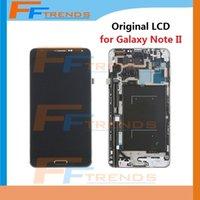Cheap 100% Original LCD Display & Digitizer Assembly with Frame for Samsung Galaxy Note 3 III N900 N900R4 N900T N900P N900V N9006 N900A N9005
