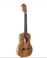 Wholesale 2015 New Concert Zebra wood ukulele Professional Zebra Ukulele