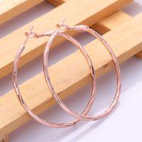 big hoop earrings wholesale - fashion earring k rose gold plated big earrings hoops earrings large earrings for women