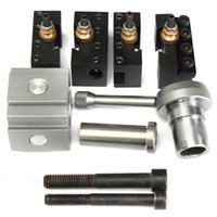 best mini lathe - Best Price Mini Quick Change Tool Post Holder Kit Set For Table Hobby Lathes