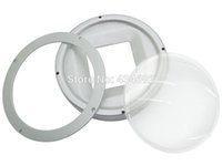 Wholesale 10Sets mm Optical Glass Projector Lens mm Base Holder reflection cup for W Led Light