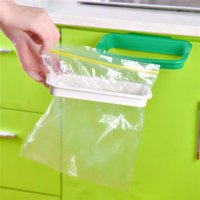 Wholesale New Arrival Convenient Hanging Trash Rubbish Bag Holder Garbage Rack Cupboard Cabinet Storage Hanger Waste Bins Kitchen