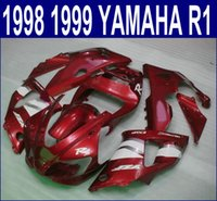 plastic injection molding - Injection molding ABS plastic bodykits for YAMAHA YZF R1 fairing kit YZF R1 red white fairings set YP4