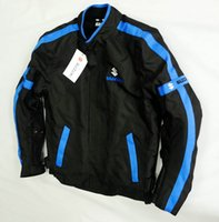 jacket racing - NEW Oxford cloth racing jacket motorbike racing cool motor jacket classic Motorcycle Auto Racing SUZUKI JACKET M XL Blue