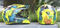 Wholesale 2016 Hot High Quality Professional Light Weight Off Road Motorbike Helmet DOT Approved Motorcycle Helmet Dirt Bike Head Gears
