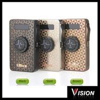 Wholesale Authentic Vision IBox Mod Vapros mah W battery With LED Screen E Cigarette mod VS cloupor mini sigelei ESP W eleaf istick W
