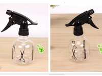 Wholesale 260ML New Simply Plastics Sprayer Bottle Can Watering for Home Gardening Flower Plant Hair Salon Bottle Transparent Black