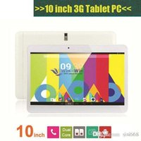 10 pouces Dual Core 1.2Ghz MTK6572 Android 4.4 WCDMA 3G Phone Call Tablet PC GPS Bluetooth Wifi double caméra avec 2 Emplacement pour carte SIM PB10-G3