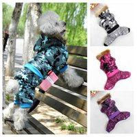 american pet classics - 2015 pet autumn winter clothes Classic dog down jacket The European and American high end plaid four feet dress clothes