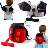 beauty bats free - Baby Toddler Safety Beauty Fashion Backpack Walker Strap Reins Ladybug Bat New and High Quality