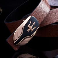 Wholesale New Quality luxury Belts mens women cow leather belt brand designer Belts For Men Belts Gold Buckle