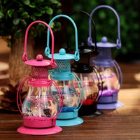 Wholesale Romantic Perfect Home Decoration Wedding Classic Glass Candlestick Candle Holder Stand Light Lantern Party Supplies