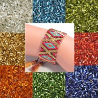 seed beads - 300g approx DIY Beads x3mm Tube Glass Seed Spacer Loose Beads Colors U Pick For Necklace Bracelet Jewelry Making