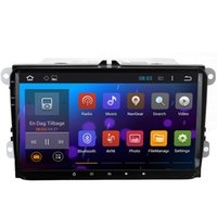 auto indonesia - 9 Inch Quad Core G CPU HD Screen Auto GPS Head Unit Android Car DVD Radio Sat Nav for VW Passat B6 B7