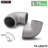 Wholesale TANSKY High Quality Universal mm quot Cast Aluminum Elbow Degree Pipe Turbo Intercooler coupling TK LZG375