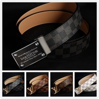 character resins - 2015 new l brand belts for men women genuine leather gold v cinto belt Men s free