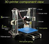 Cheap Newest Aurora Reprap Z605 3D Printer DIY Reprap i3 CNC Suit 3D Flatbed Printer with 2KG filaments