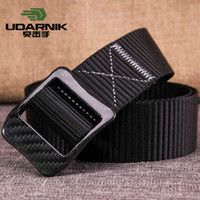 Wholesale 2016 New Udarnik Brand Outdoor Army Tactical Belt Military Nylon Belts Mens Waist SWAT Strap with Metal Buckle Waist Two Color