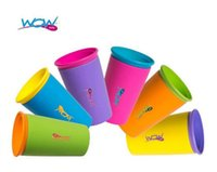 Wholesale Multi style Color Options Wow Cup for Kids with Freshness Lid Spill Free Drinking Cup Baby Magic Cup Hot