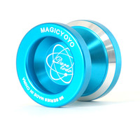 Wholesale MAGICYOYO N8 Dare To Do New Blue Fashion Alloy6061 Yoyo With Anodized Color