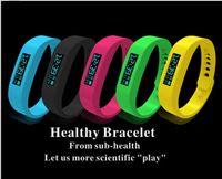 Wholesale Sports OLED Smart watch wristband Fitbit flex bluetooth healthy pedometer bracelet step counter wireless sleep fitness tracker podometro