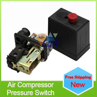 Wholesale Heavy duty miniative air compressor pressure switch Auto load unload control switch Control Valve Bar PSI order lt no track