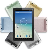Wholesale 7 inch Android Kitkat Tablet PC GB HDMI Output Dual Camera inch MB GB DHL ZKT