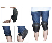 Wholesale New arrive D High density plaids black Cap Knee Pads effective relieve knee pain prevention for car wrap MX